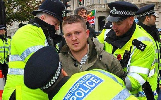 Tommy Robinson, Cambridge pub