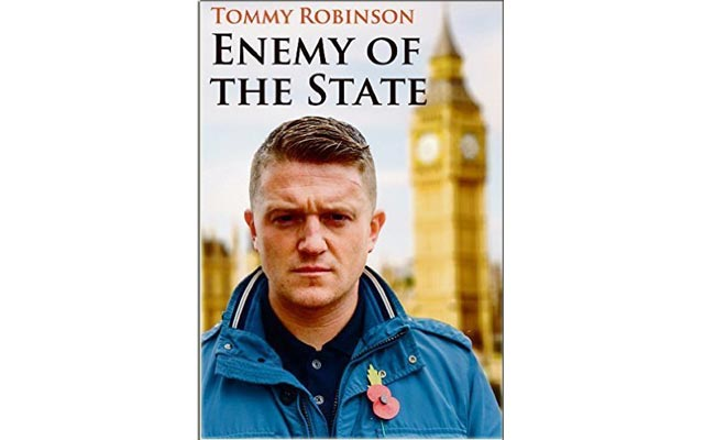 Tommy Robinson's book, Enemy of the State