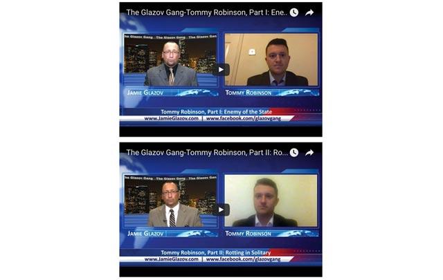 Tommy Robinson on The Glazov Gang
